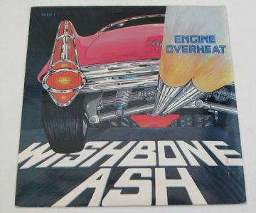 "WISHBONE ASH Engine Overheat 1982 UK 7"" P/S ROCK MINT MINUS AUDIO"